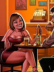It was a very nice - Animated tales: Happy hour with my coworker by Welcomix (Tufos)
