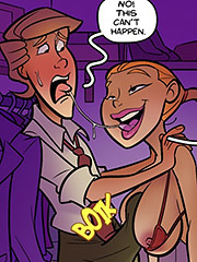 It's incest, it's wrong - The hardon sibs issue 2 by jab comix